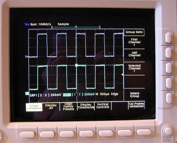 Продам Осциллограф Tektronix TLS216 16 канальный, 500 МГц