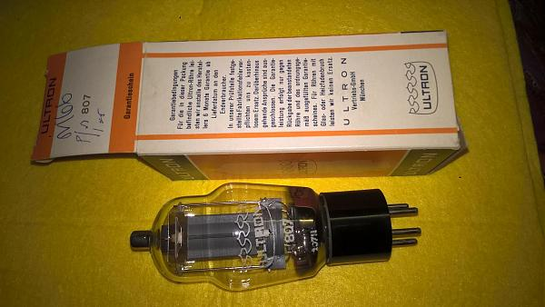 Продам Радиолампа Г807/АZ11 Ultron