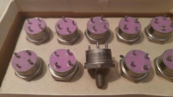 Продам транзисторы 2Т912Б