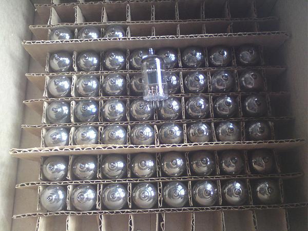 Продам лампы к приёмникам, приборам и усилителям