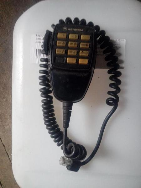 Продам Mикрофон DTMF от Motorolla GM300-380