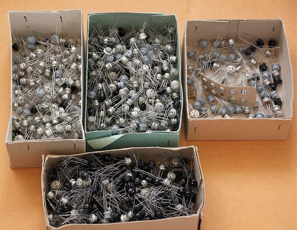 Продам транзисторы типа мп.гт п