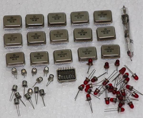 Продам микросхемы к284уд1а и светодиоды ал360, ал307