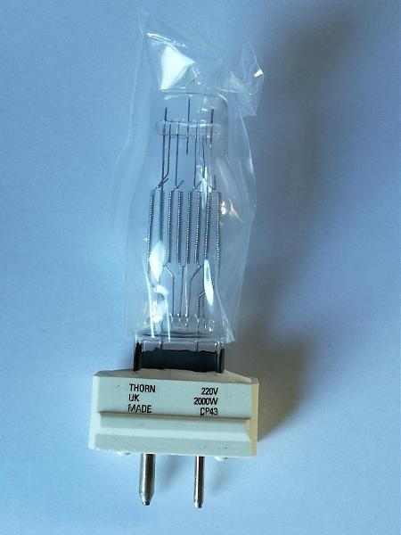 Продам лампа галоген CP 43 световое оборуд., для студий