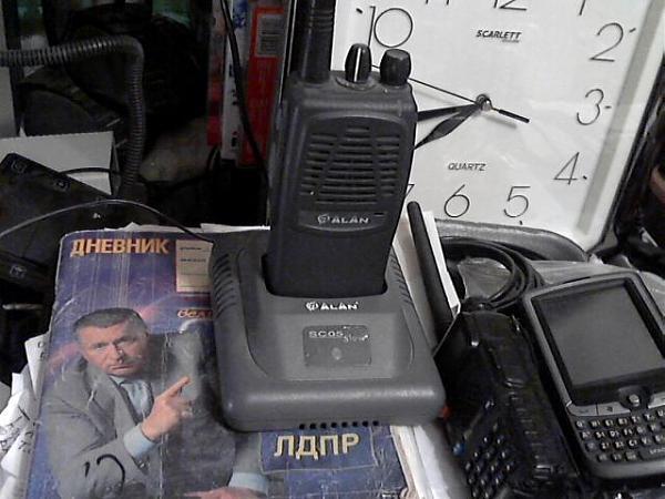 Продам р/с вертекс-станд. vx-160ev и alan hp-105.Gp-340