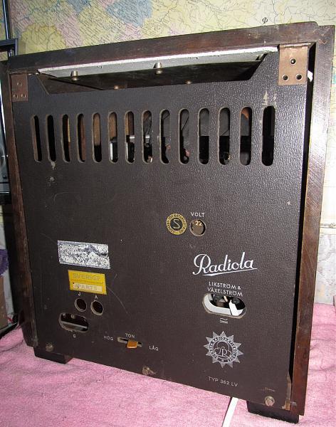 Продам Шведский приемник Радиола 362лв