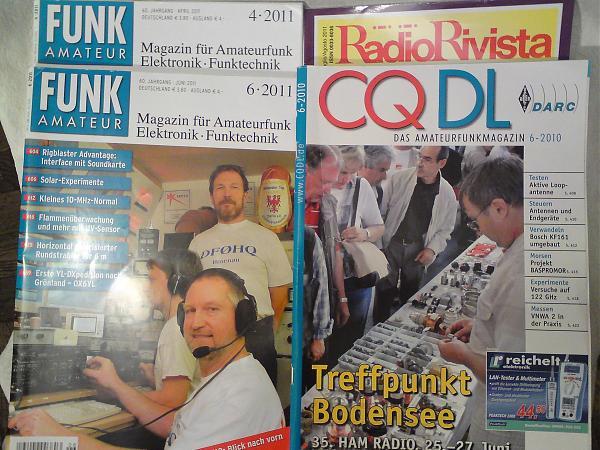 Продам немецкие и итальянские радиожурналы