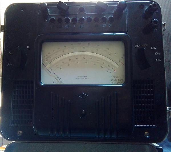 Продам Ампервольтваттметр Д552.