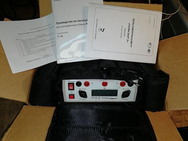 Продам ПАРМА ВАФ-А с двумя токовыми клещами
