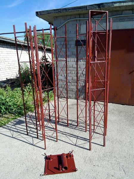 Продам Изготовлю антенные мачты