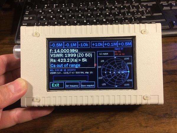 Продам антенный анализатор EU1KY