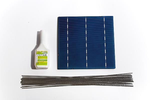 Продам Набор солнечных элементов для сборки панели 147W