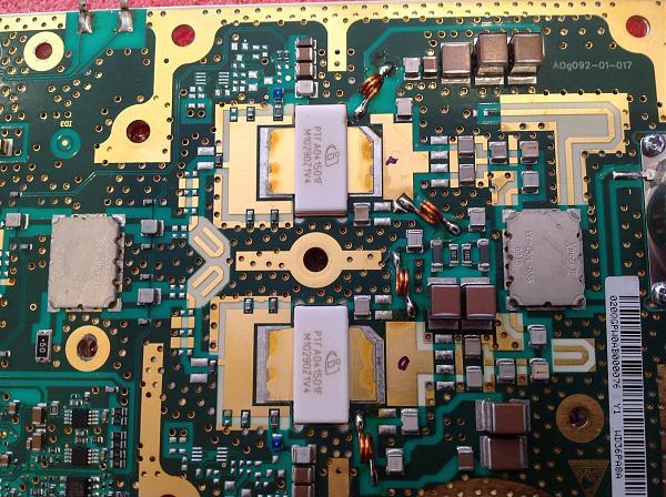 Продам Усилитель мощности на 450 МГц на подложке