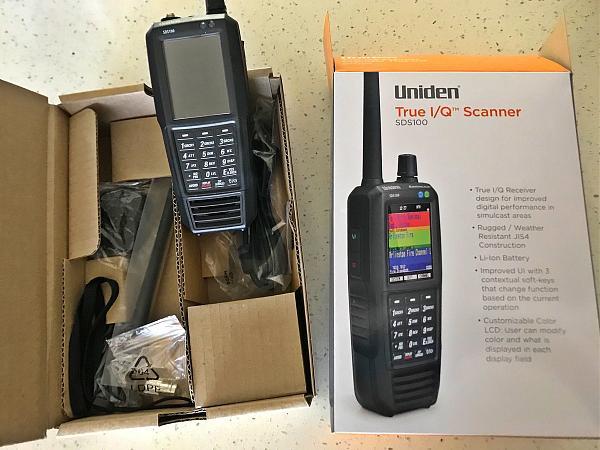 Продам Uniden SDS100 новый революционный аппарат 2018г