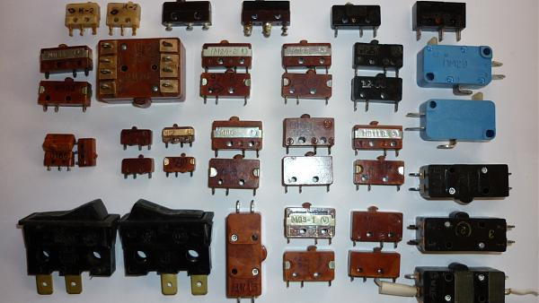 Продам Микропереключатели МП