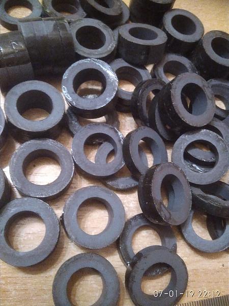 Продам ферритовые кольца к22.5х13х4.5мм 60вн/вч