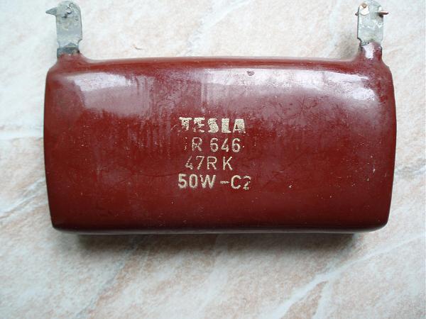 Продам Резистор 47 Ом, 50 Ватт