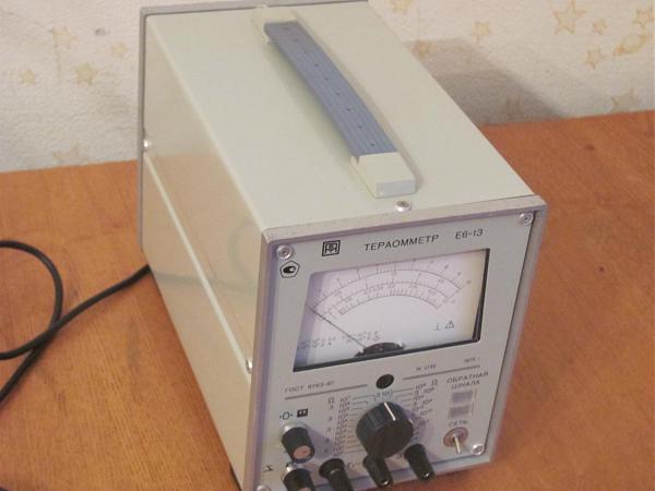 Продам Тераомметр Е6-13