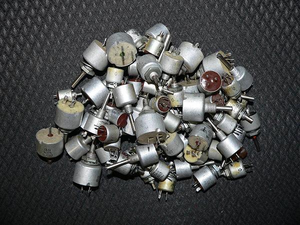 Продам Резисторы подстроечные и переменные