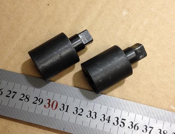 Продам Переходники для вала электродвигателя 11 мм