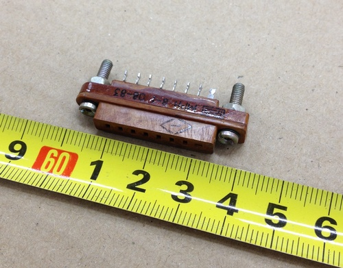 Продам Миниатюрные разъёмы мрн8-1 (розетка)