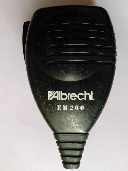 Продам Микрофон тангенту DTMF ALBRECHT