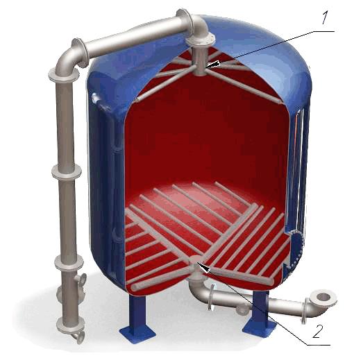Продам Дренажные системы (ДРУ) щелевого типа для фильтров