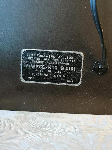 Продам Аудиоколонки HiFi  RFT  DDR