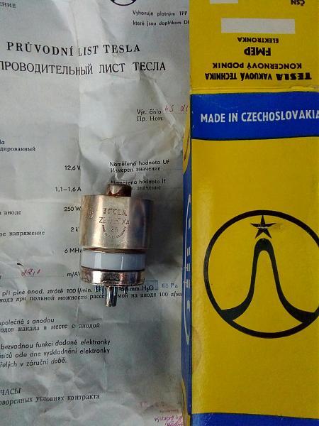 Продам Лампа генераторная ZE025XA Tesla . Лампа 6Н7С