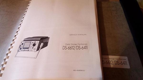 Продам ЗИП тех документацияосциллографов DS-6612