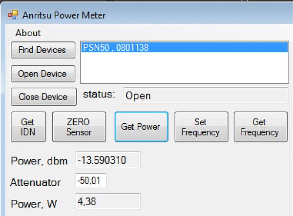 Продам Измеритель мощности Anritsu PSN50