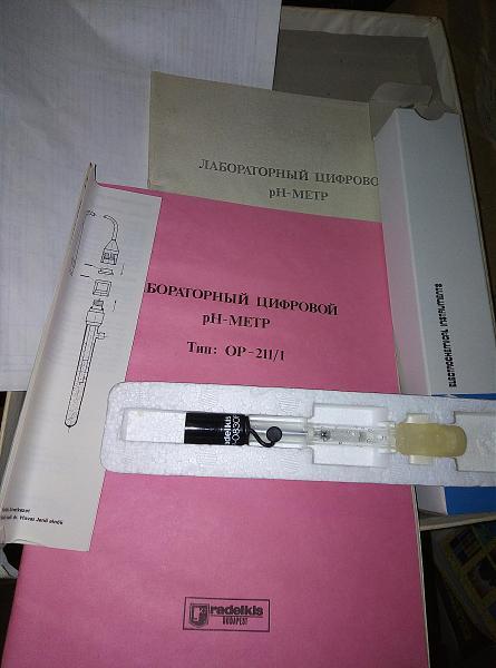 Продам ЗИП рН-метра ОР-211\1