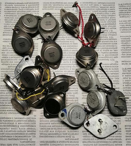Продам Транзисторы кп, кт, гт, мп, п, Tesla