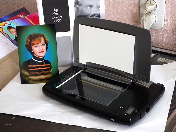 Продам hp photo scanner 1200
