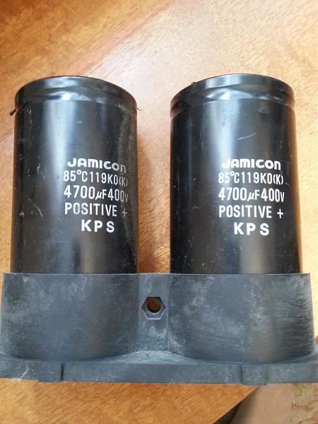 Продам Конденсаторы в высоковольтный БП 4700мкФ х 400 В