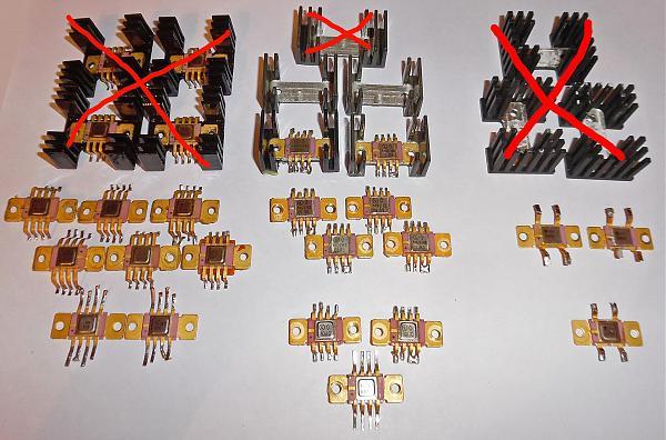 Продам 142ЕН3,142ЕН5,142ЕН6,142ЕН8 Au демонтаж, радиатор