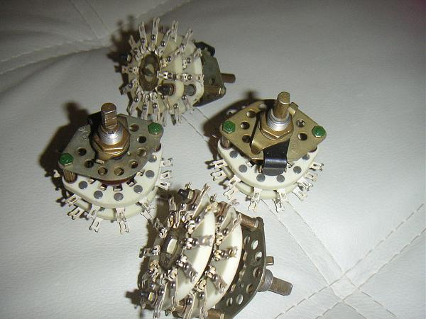 Продам переключатели керамические галетные