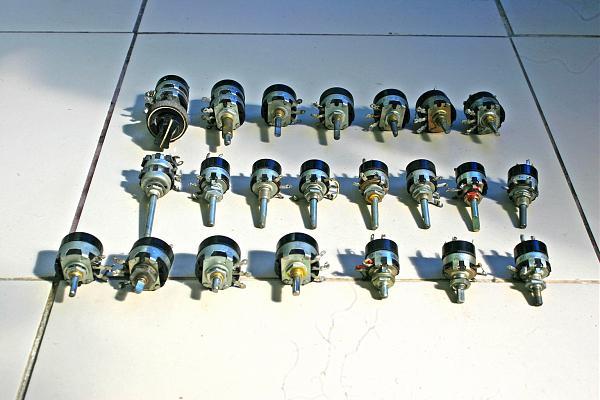 Продам Переменные резисторы