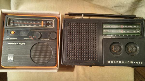 Продам радиоприёмники  СССР