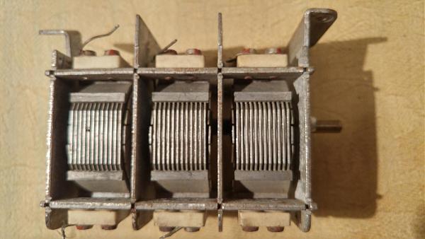Продам переменный конденсатор немецкий