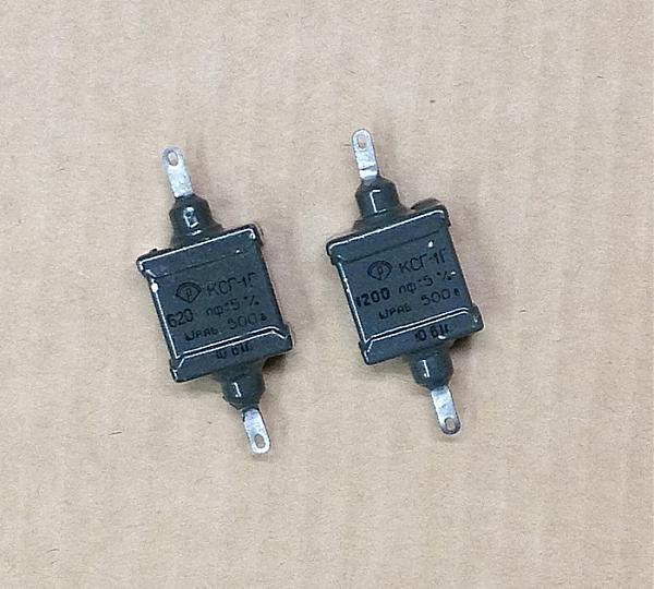 Продам Конденсатор КСГ-1Г 620пф., КСГ-1Г 1200пф
