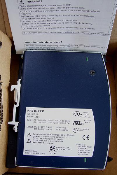 Продам Блок питания Hirschmann RPS80