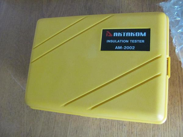 Продам Мегаомметр цифровой АКТАКОМ АМ-2002