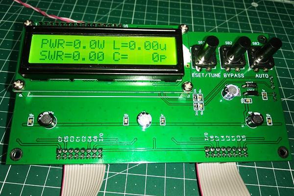 Продам Автоматический антенный тюнер N7DDC на 500 Вт