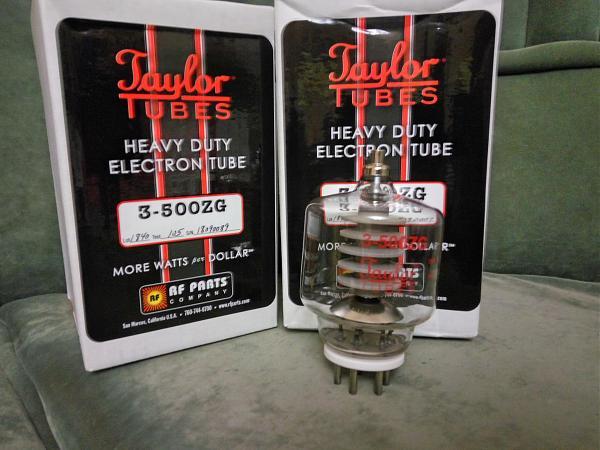 Продам 3-500ZG подобранная пара ламп