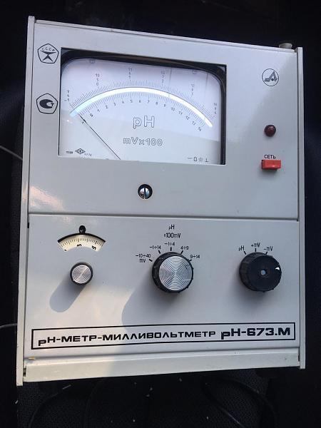 Куплю рН метр-милливольтметр рН-673М