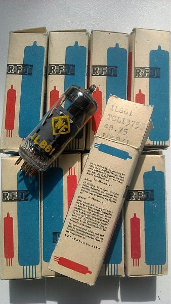 """Продам Радиолампа IL-861 с позолоченными """"ножками"""""""