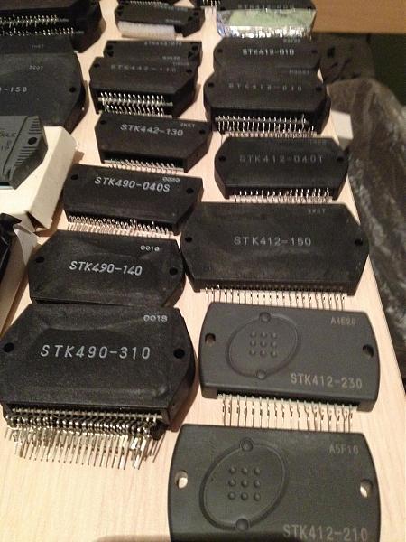 Продам тип STK. микросхемы много