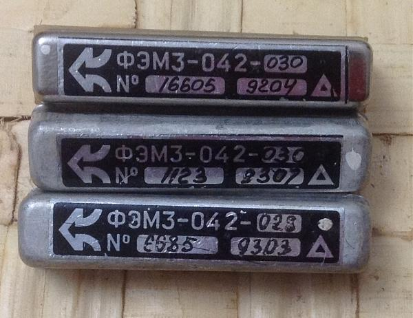 Продам Фильтры ФЭМ3-042