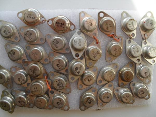 Продам AD162 AD161 tungsram раритетная пара транзисторов